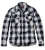 (リークーパー)Lee Cooper Wガーゼウェスタンシャツ メンズ