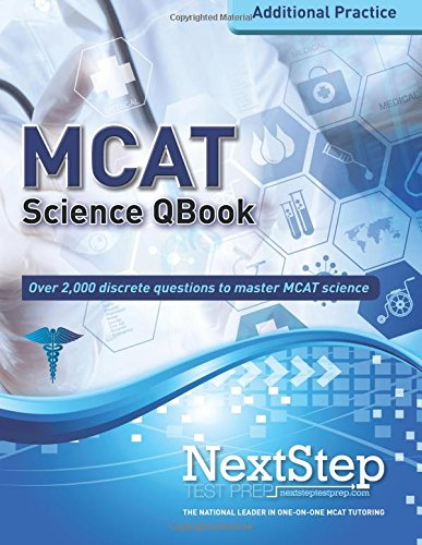 MCAT QBook: Over 2,000 Questions Covering Every MCAT Science Topic (More MCAT Practice) (Step 3 Qbook compare prices)
