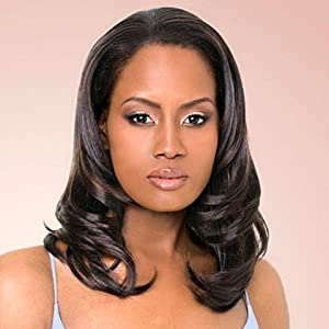 Outre Quick Weave Synthetic Hair Half Wig - Faith (Color: 1B)