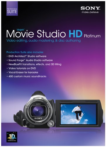 Sony Vegas Movie Studio HD Platinum 11 Production Suite [Old Version] (Sony Movie Studio Platinum 10 compare prices)
