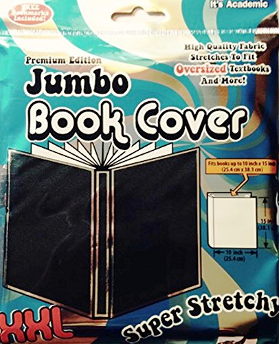 Book Cover Material Suppliers : Jumbo book cover xxl fits books black office