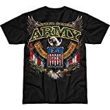 Battlespace Men's T Shirt Army 'Fighting Eagle'