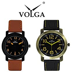 Volga Partywear Watches For Men's with Superior Collections Combo Analog Watches For Boys and Girls