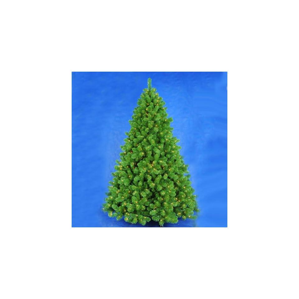 9.5 Pre Lit LED Vanderbilt Artificial Christmas Tree   Warm Clear Lights