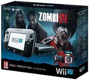 Console Nintendo Wii U 32 Go noire - 'ZombiU' premium pack