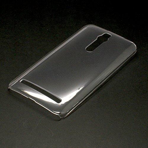 Smartist Rakuten ASUS Zenfone 2 PC Case  楽天 モバイル SIM フリー MVNO ゼンフォン 2 対応 ポリカーボネイト デコ 素材 キラキラ ハード ケース Clear クリア 透明 CASEASZEN2-PCCase01-CL