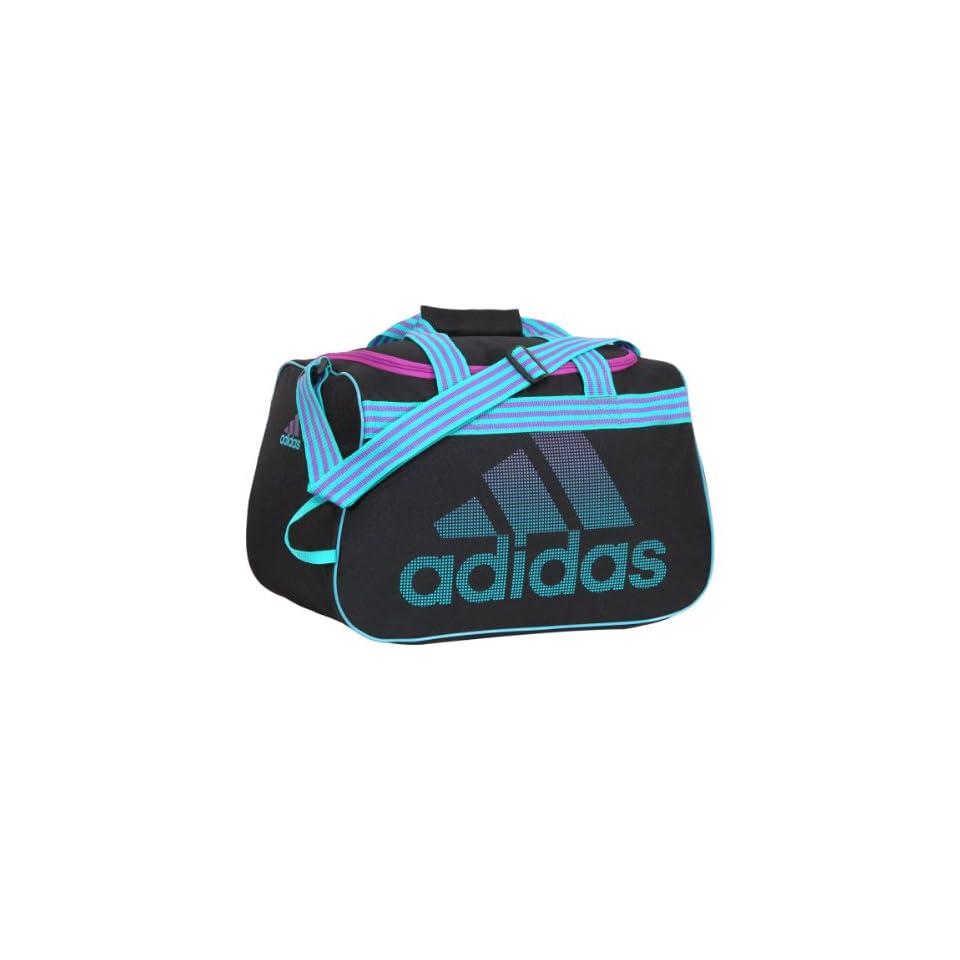 9e69ddd732ea Adidas Diablo Duffel Bag (Small, Black/Hyper Green/Ultra Purple) on ...