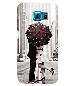 PRINTSWAG LOVE COUPLE Designer Back Cover Case for SAMSUNG GALAXY S6