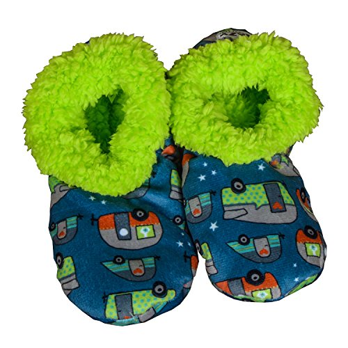 NIGHT OUT-Campers Fuzzy Feet Slippers by Lazy One (Lazy One Fuzzy Feet compare prices)