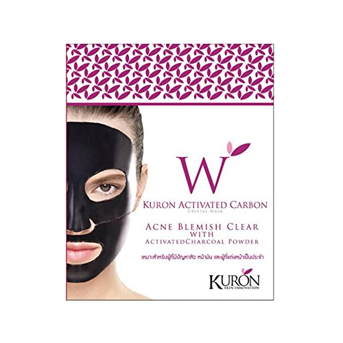 kuron-activated-carbon-crystal-mask-acne-blemish-clear-with-activated-charcoal-powder-1-pc