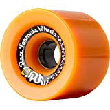 Sector 9 Race Formula Skateboard Wheel, Orange, 74mm 82A