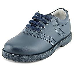 Academie Gear Honor Roll Saddle Shoe (Toddler/Little Kid/Big Kid),Navy,13.5 W US Little Kid