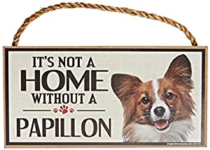 Imagine This Wood Sign for Papillon Dog Breeds