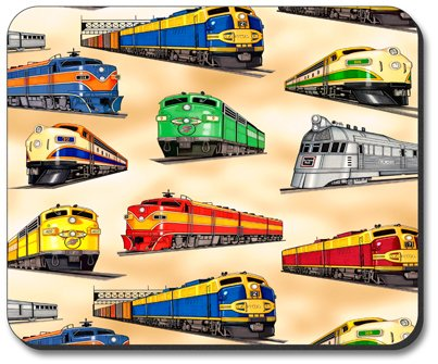 Diesel Trains - Mouse Pad