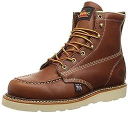 Thorogood Women\'s 6-Inch MO Work Boot, Brown, 7 M US