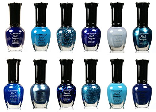 Kleancolor-Nail-Lacquer-Collection-Awesome-Assorted-Blue-Full-12pc-Set