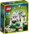 Lego Legends Of Chima - Les Animaux Légendaires - 70127 - Jeu De Construction - Le Loup Légendaire