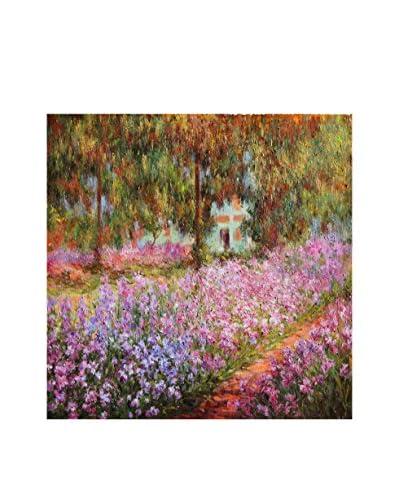 LegendArte Panel Decorativo El Jardín de Claude Monet