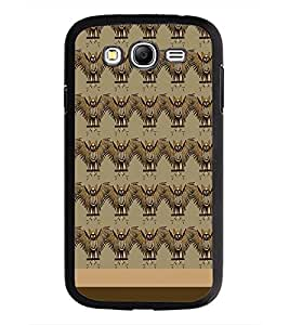 PrintDhaba Owl pattern D-1860 Back Case Cover for SAMSUNG GALAXY GRAND I9082 (Multi-Coloured)