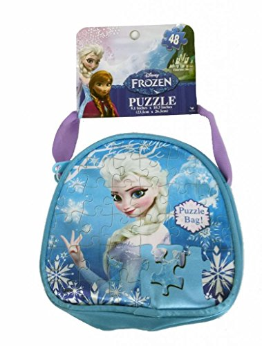 Frozen Carry and Go Fashion Bag Puzzle (48-Piece)Styles Will Vary - 1