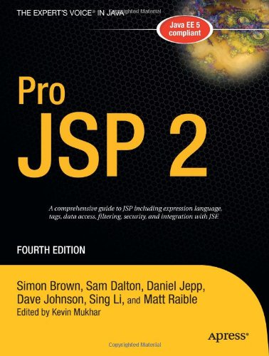 Pro JSP 2, Fourth Edition (Expert's Voice in Java)