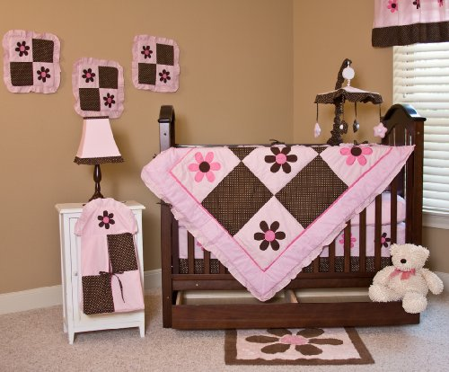Nursery-To-Go Pam's Petals Bedding Crib Set