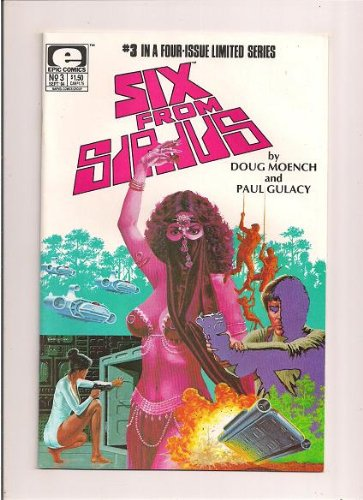 SIX FROM SIRIUS #3 (EPIC Comics) - 1