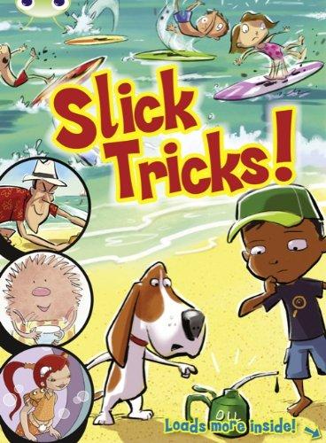 Blue Comic: Slick Tricks (Bug Club)