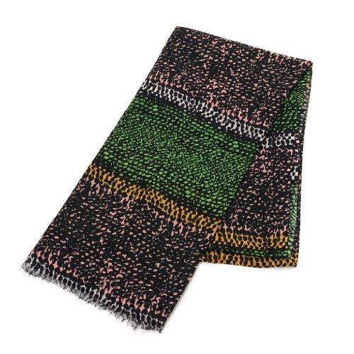 (マリメッコ) Marimekko 40098 KEHRA SCALF ストール/スカーフ 620/green/coral/orange [並行輸入品]