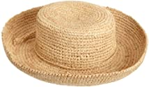 San Diego Hat Little Girls'  Raffia HatNatural7-12 years