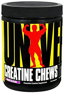 Universal Nutrition - Creatine Chews Grape Flavor