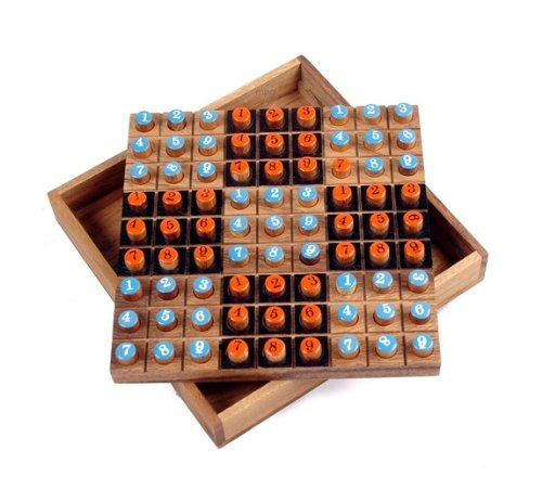 Cheap Monkey Pod Games Wooden Sudoku Board – A Must Have for the Sudoku Fan (B002758DMI)
