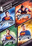 4 Film Favorites: Superman (Superman: The Movie/Superman II/Superman III/Superman IV: The  Quest For Peace) (Sous-titres français)