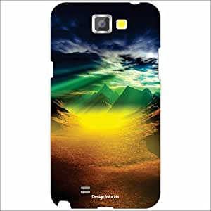 Design Worlds - Samsung Galaxy Note 2 N7100 Designer Back Cover Case - Mult...