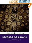 Records of Argyll; legends, tradition...