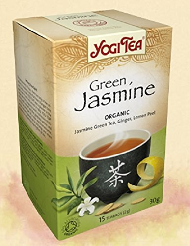 Yogi Tea Green Jasmine Tea 17 Bags (Pack Of 6)