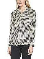 Guess Camisa Mujer Clouis (Blanco / Negro)