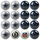 NFL Dallas Cowboys Home Versus Away Team Billiard 8-Ball Set