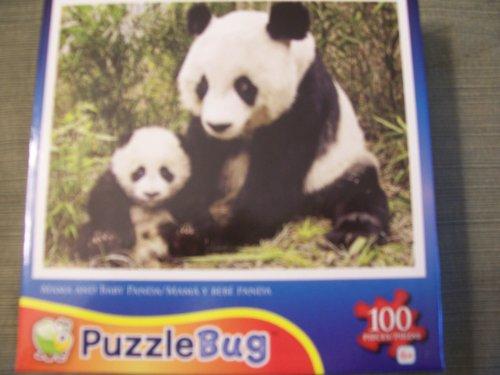 Cheap LPF Puzzlebug 100 Piece Jigsaw Puzzle – Mama and Baby Panda (B005GM9NF0)