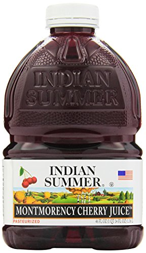 Indian Summer 100% Juice, Montmorency Cherry, 46-Ounce Containers (Pack of 8) (Indian Summer Cherry Juice compare prices)
