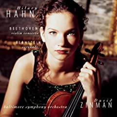 Beethoven: Violin Concerto; Bernstein: Serenade / Hahn, Zinman, Baltimore SO