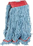 Rubbermaid Commercial FGA15306BL00 Web Foot Mop Head, 5-inch Headband, Large, Blue