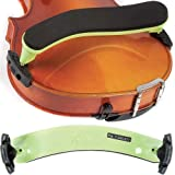 Everest Neon Green ES Series 4/4 Violin Adjustable Shoulder Rest