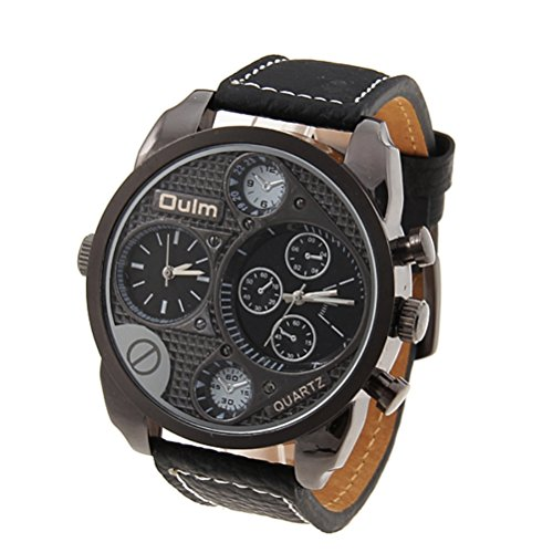 foxnovo-oulm-9316-cool-mens-big-round-dial-dual-time-display-quartz-wrist-watch-with-pu-band-black