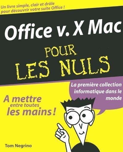 OFFICE V.X MAC -POUR LES NULS
