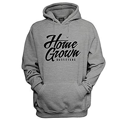 HomeGrown Outfitters Men's Script Hoodie