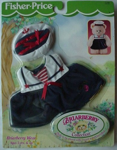 Fisher-Price BRIARBERRY TEDDY BEAR Sailor Dress & Hat