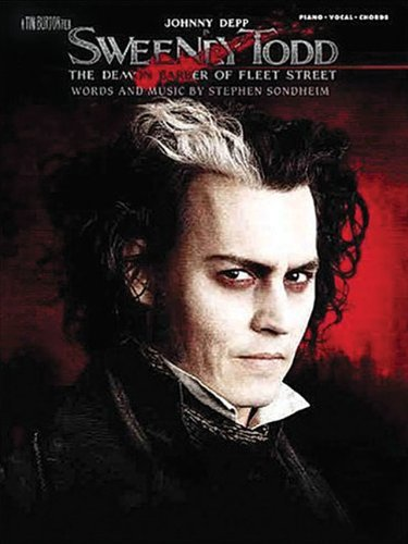 Sweeney Todd- Movie Selections- Piano,Vocal