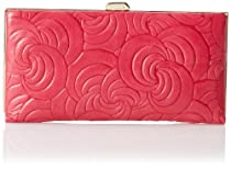 Lodis Ocean Avenue Quinn Clutch,Rose,One Size