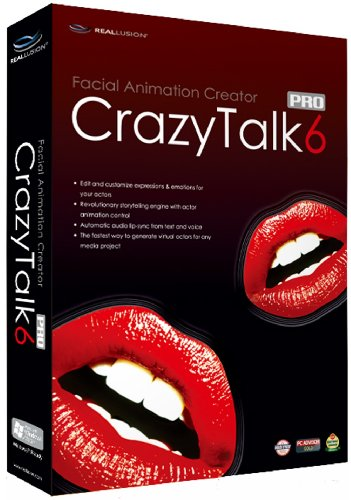 Crazy Talk 6 Professional (PC DVD)
